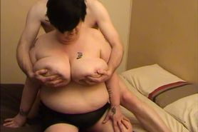 Granny BBW with two amazing boobs