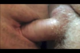 Shaved Mature Muff closeup sex