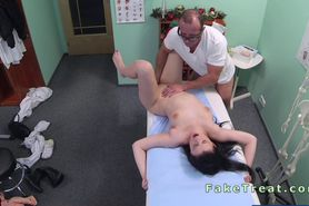 Beautiful European patient fucked in fake hospital