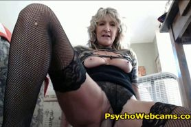 Crazy Hot Mature MILF Needs a Cock