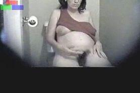 Pregnant Masturbation