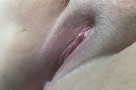 Squirting BBW Pussy Closeup