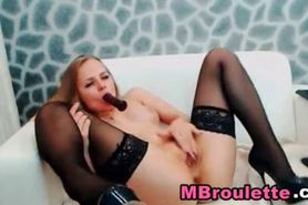 Smoking Hot Euro Blonde Babe Solo