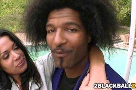 Busty milf Sienna and a big black cock