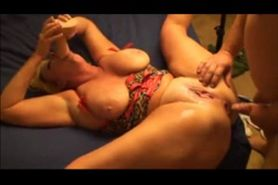Chubby MILF gets fucked in the ass