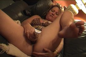 Sandra Devon Masturbating with vibrator 1