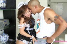 French maid Aurora Monroe hard pounded