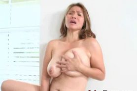 Big Titty Asian Ex With Dildo