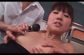 Japanese slut pussy stuffed with sex toys and fingers i