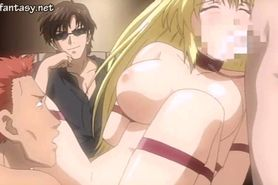 Corrupting hentai girl gets fucked