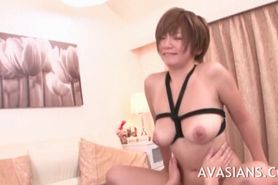 Busty anal asian milf slag