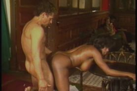 Ebony Ayes and Billy Dee hardcore