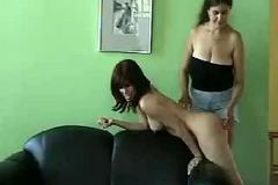 Lesbian extreme spanking