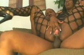 lady armani ebony anal3