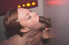 Redhead Loves Black Dick At Hole