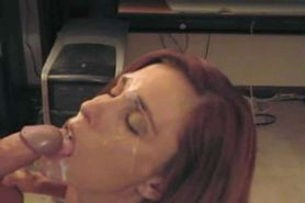 my wife a blowjob