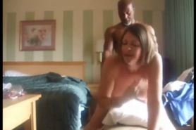 Mature interracial Couple fucking