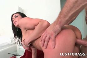 Big ass gangbang with BJs and doggy style