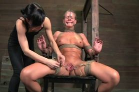 Lesbian Domination In Dungeon