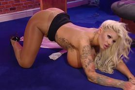 Bimbo Candy Charms chat on TV 06