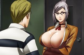 Prison School BD #4 uncensored anime scenes