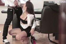 Busty latin Valentina Nappi pussy banged