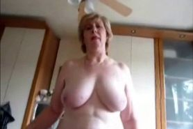 Old Slut Wants a Little Bit of Cum