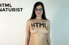 HTML code programming