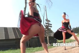 ACTIONGIRLS  Clara Hunter western dance Sophie Moo