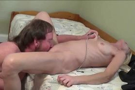 Eating and fucking her mature pussy