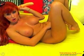 Red Head Dildo Webcam Show