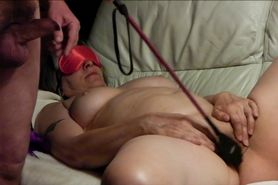 Kinky wife being whipped