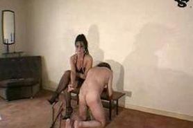femdom amateur punishment session