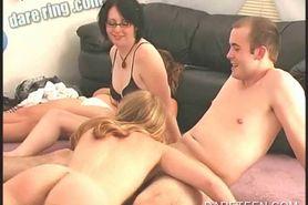 DareRing challenge Girls get to lick pussy
