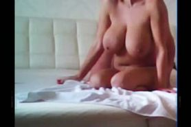 Wife With Giant Tits Fucked