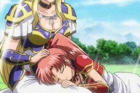 Anime princess getting shemale cock