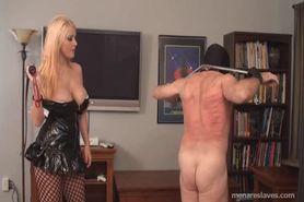 Mistress Thrashes slave