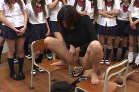 Japanese Femdom Peeing