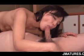 Smoking hot Japanese mature fucking like an elite hooke