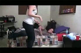 Crazy Girl Captures Her Best Friend Fucking Her BF