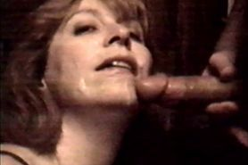 Mature facial mmmm covered in cum