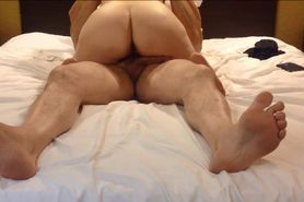 Amateur couple pussysex & creampie