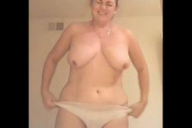 No Sound: Michelle stripping