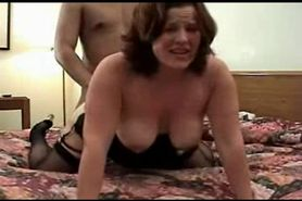 BBW wife Interracial threesome