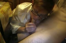Making Love to his Cock with Mouth