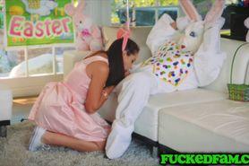 Fuck bunny teen Avi Love fuck a bunny