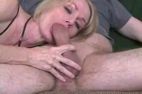 Amateur Mature Wife Gives Great Blowjob