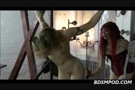 Femdom Starla Spanks And Dominates Her Lesbian Sub