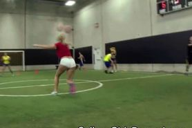 College Dodge Ball Turns To Blowjobs