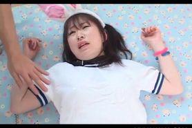 Innocent Asian school doll having her tight fuck hole t